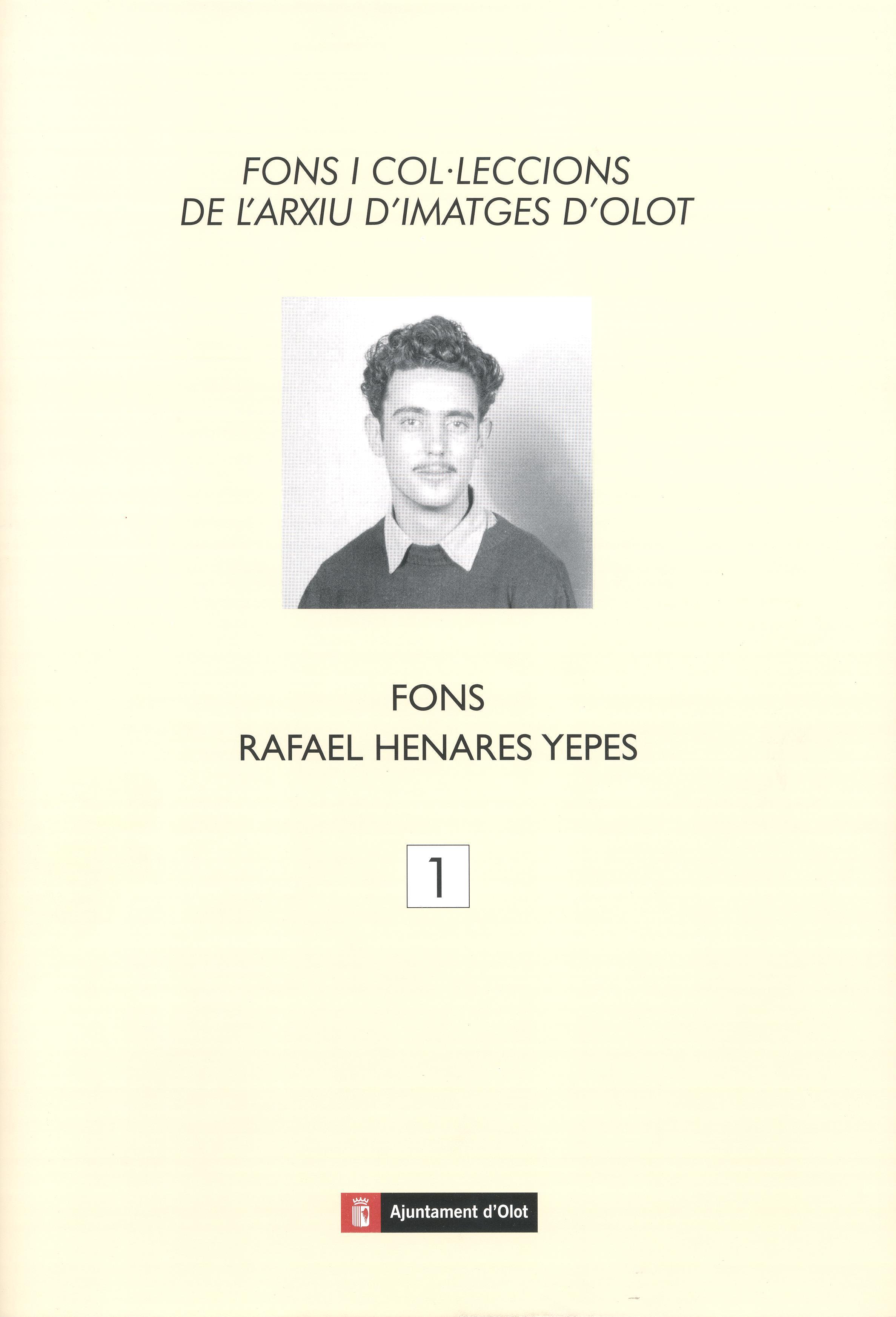 Coberta llibre fotògraf Fons Rafael Henares Yepes. ACGAX