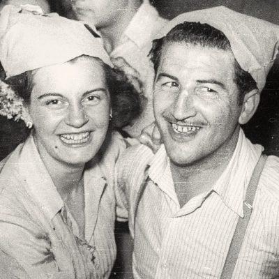 Festa major de Riudaura. ACGAX, Emili Pujol Planagumà, c. 1955