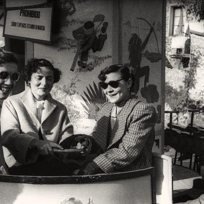 Festa del barri de Sant Miquel, a Olot. ACGAX. Emili Pujol Planagumà, c. 1955