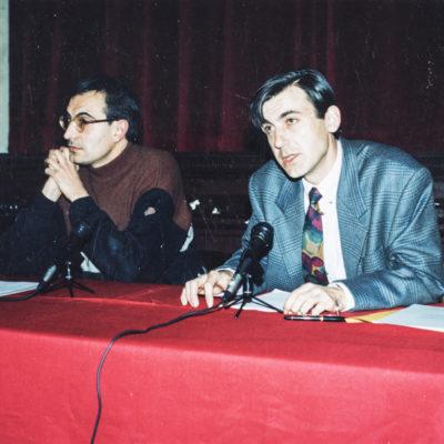 Manel Masó i Joaquim Giol. ACGAX. L'Ateneu - Grup de debats adherit a l'Orfeó Popular Olotí, 1993