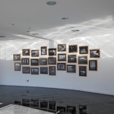 Exposició La casa de pagès, de Pep Sau. Arxiu Comarcal de la Garrotxa. Fotografia de Pep Sau