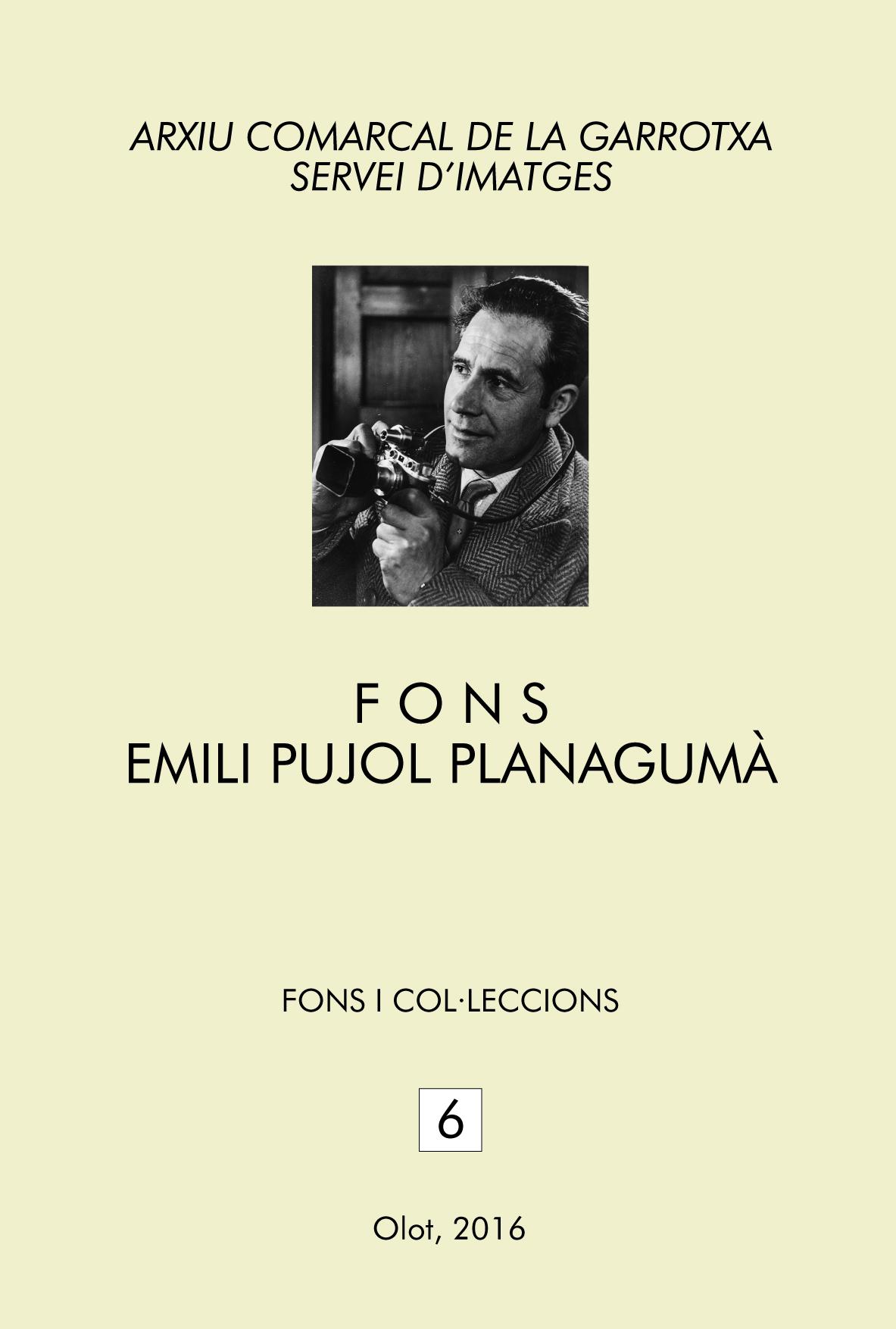 Fons Emili Pujol Planagumà, Servei d'Imatges de l'ACGAX i Institut de Cultura de la Ciutat d'Olot